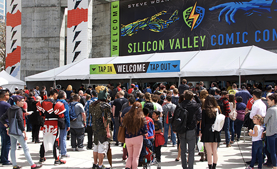 Technossus at Comic-Con: A Sea of Fun-loving, Nerdy Humanity