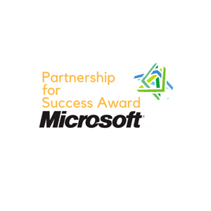 Partnership for success award-2012